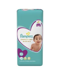 Pampers Pañal Premium Care XG x 60 Unidades
